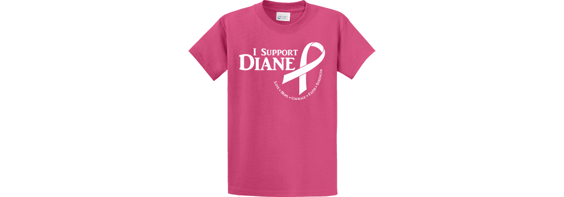 I Support Diane Butterfly Sangria T-Shirt